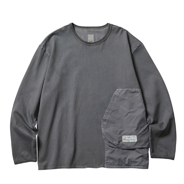 OVERDYED SHOOTING L/S TEE