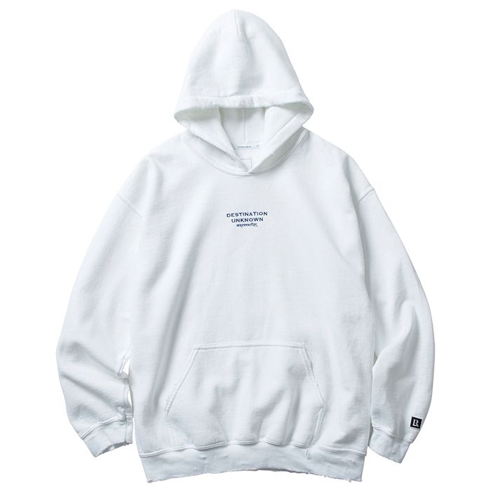 EMBROIDERY PULLOVER HOODIE